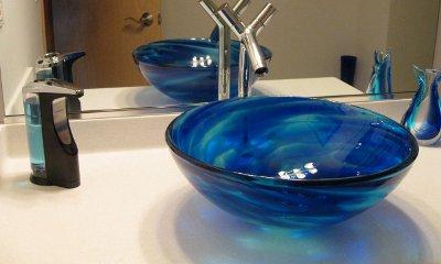 Untitled Cobalt Blue Vessel Sinks