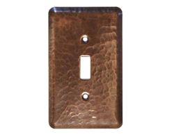 1-5 gang Toggle Copper Switch Plate Cover
