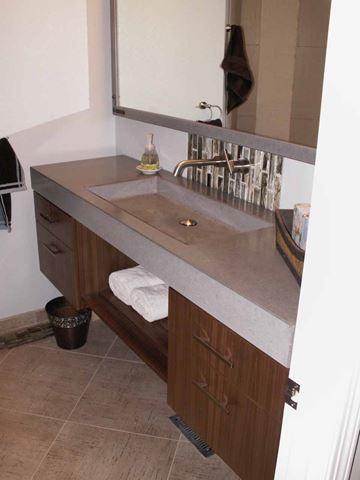 Subtle Integral Stone Sink
