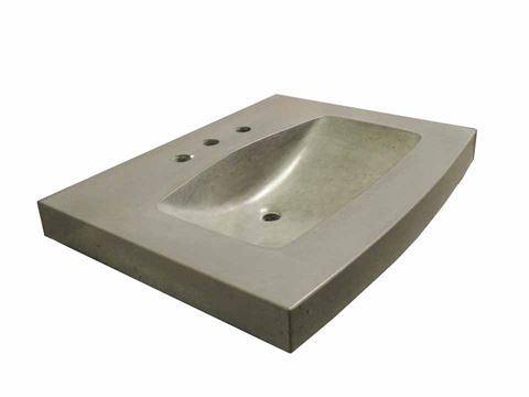 The Golden Curve Concrete Sink