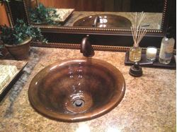 Picture of Vertigo Bronze Bath Sink