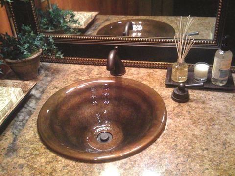 Vertigo Bronze Bath Sink