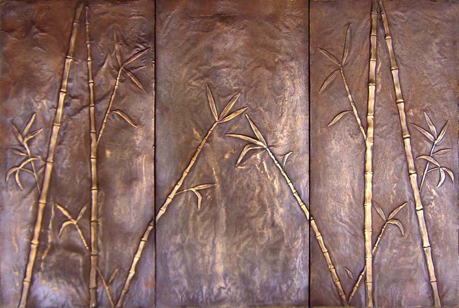 Picture of Bamboo 3 Piece Mural
