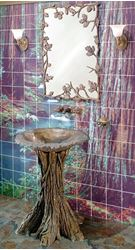 Picture of Fairy Tale Oak Bathroom Pedestal