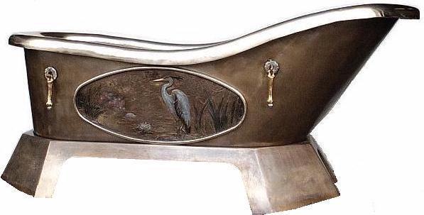 Picture of Serenity Cast Bronze Bathtub