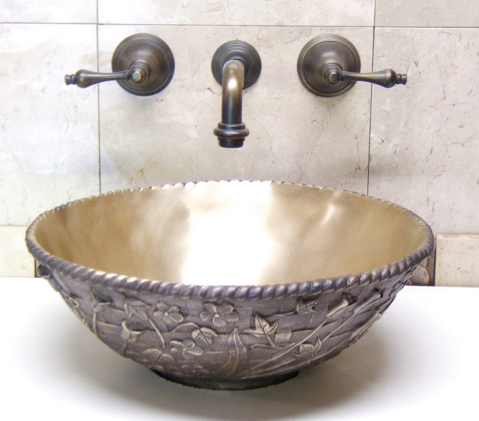 Picture of Kylie Bronze Bath Sink