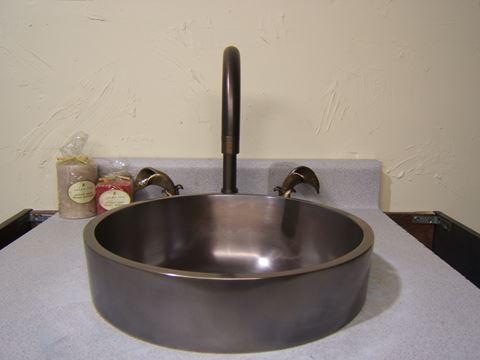 Cosmopolitan Bronze Bath Sink
