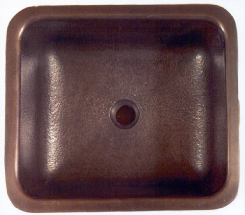 Picture of 1614 Square Bronze Bar Sink