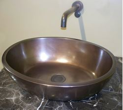 Picture of Colonial Bronze Bath Sink