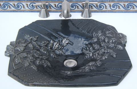 Rita Elaine Bronze Bath Sink