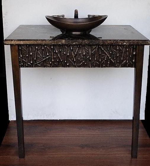Picture of Suzette Cast Bronze Console