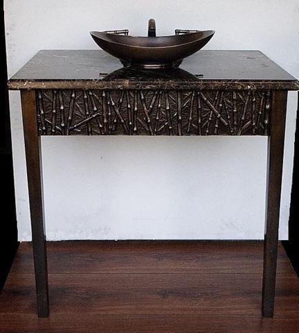 Suzette Cast Bronze Console