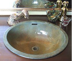 Meadow Bronze Self-Rimming Sink