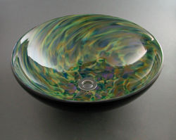 Picture of Blown Glass Sink - Confetti