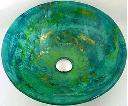 Picture of Hand Painted Sink - Fantasea