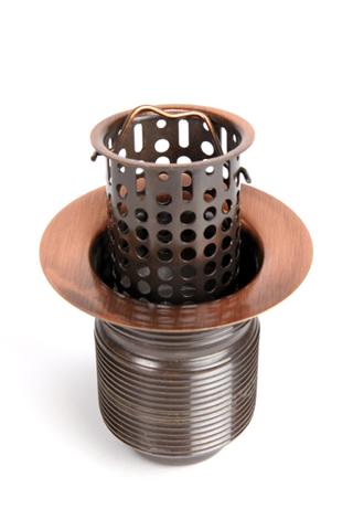 "2"" Lift-Out Basket Bar Sink Drain"