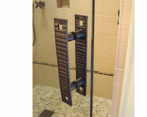 Sonoma Forge   Shower Door Handle   CIXX Collection
