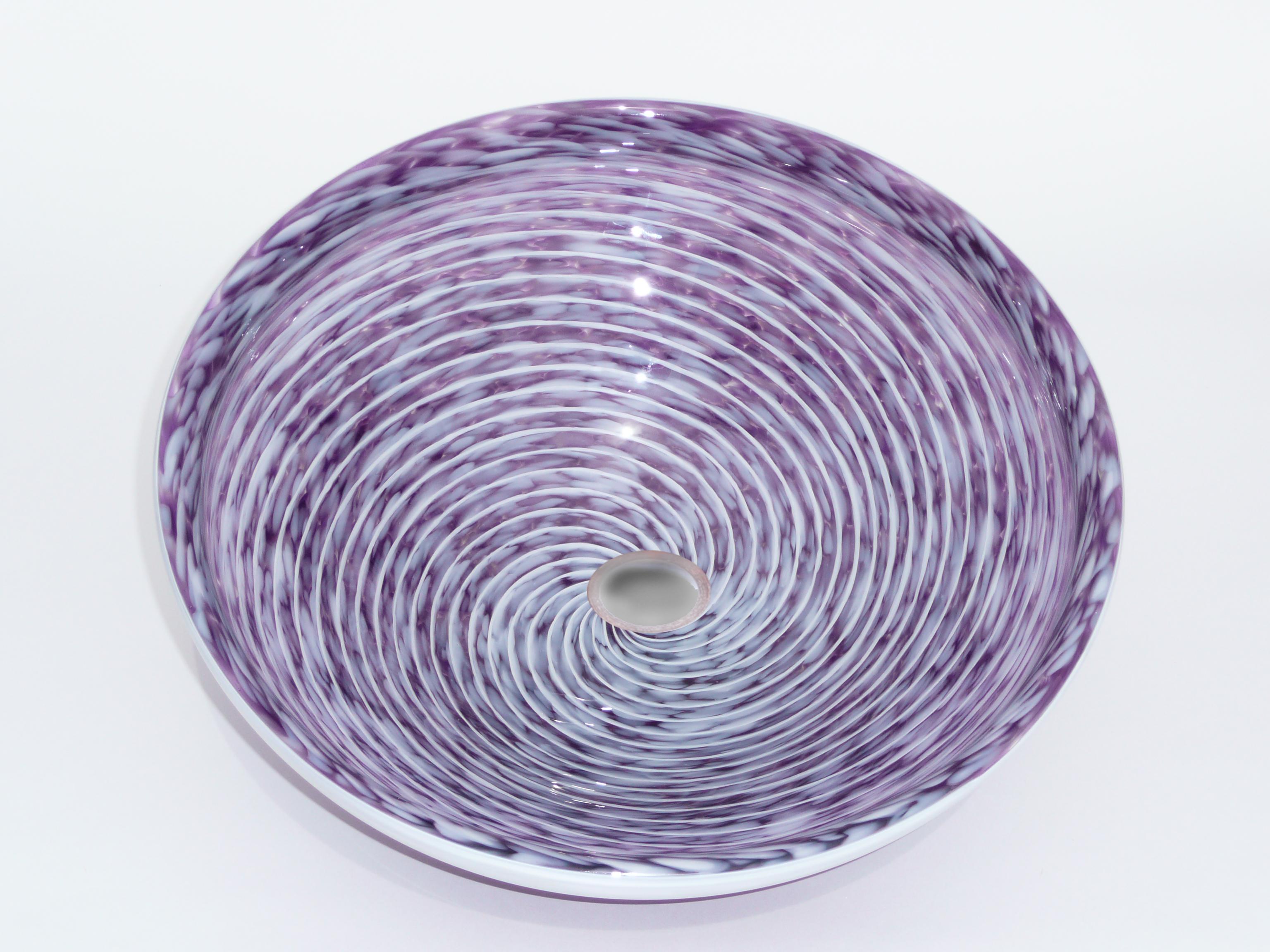 Picture of Hyacinth Purple Whirlpool Vessel Sink