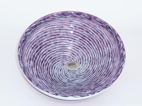 Hyacinth Purple Whirlpool Vessel Sink