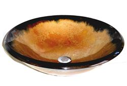 Bella Oro I Round Glass Vessel Sink
