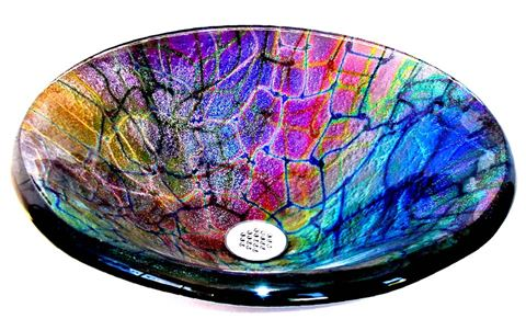 Cameleone Round Glass Vessel Sink