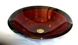 Picture of Castellizone Round Glass Vessel Sink