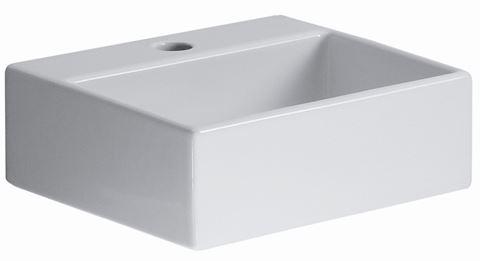 """Quarelo 13"""" Italian White Ceramic Sink"""