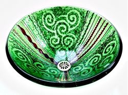 Picture of Green Venetian Sink