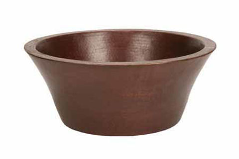 "16.5"" Taza Copper Vessel Sink by SoLuna"