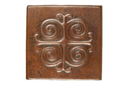 Picture of Copper Tile by SoLuna - Medallion