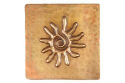 Picture of Copper Tile by SoLuna - Sun