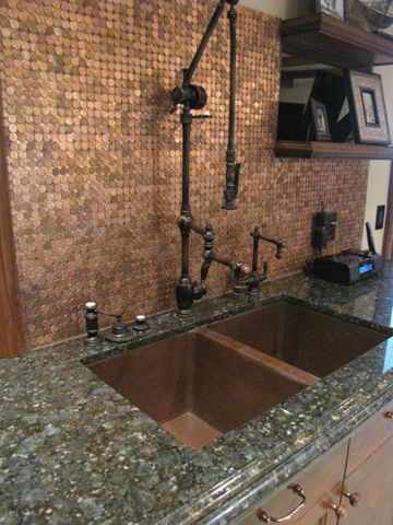 """Waterstone Towson Gantry Kitchen Faucet with 12"""" Articulated Spout"""