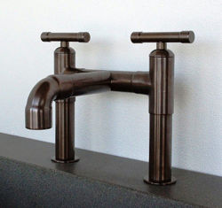 Sonoma Forge | Bathroom Faucet | Elbow Spout | Deck Mount