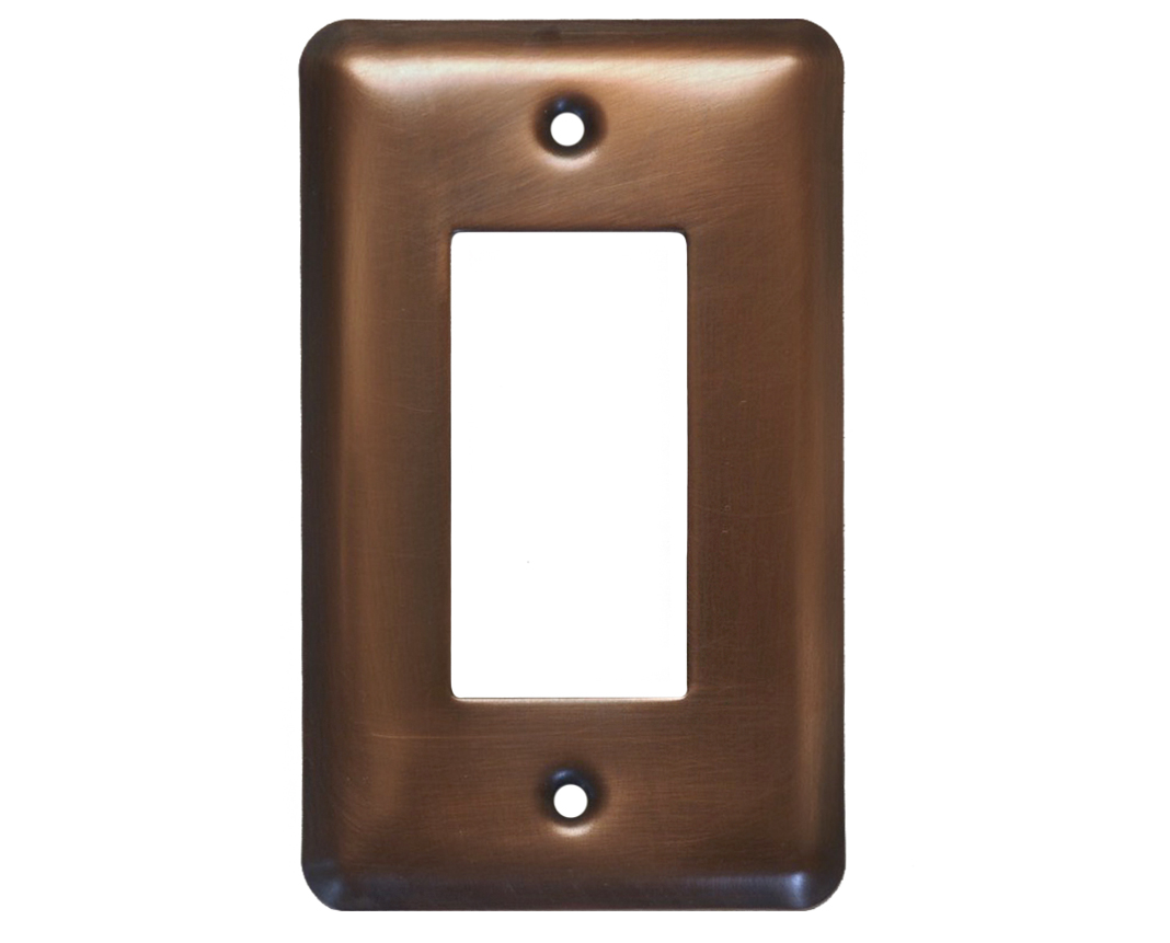 Picture of 1-5 gang Deco Copper Switch Plate Cover