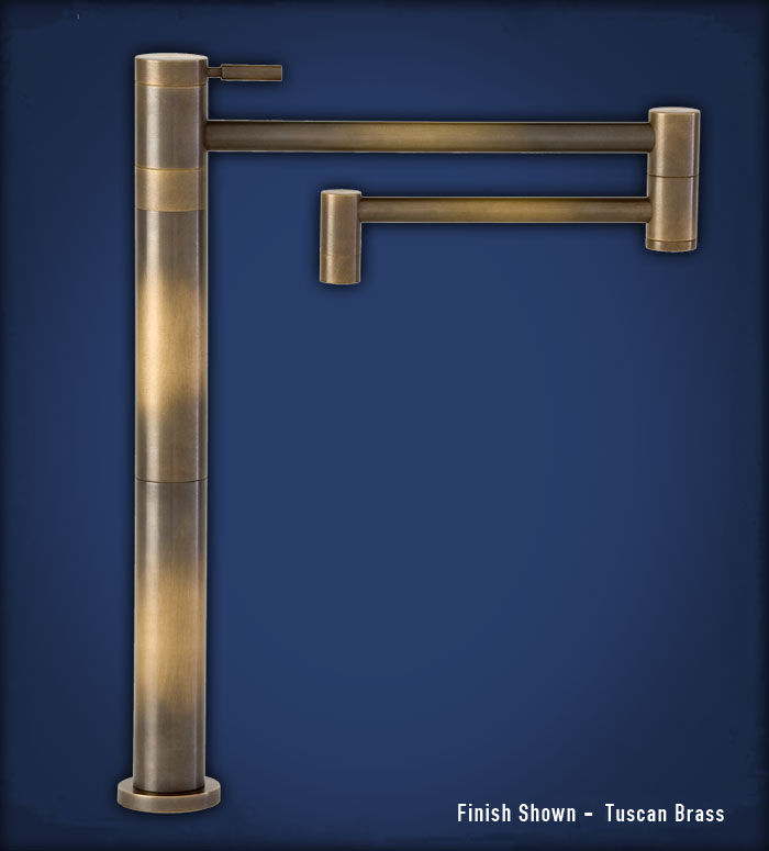 Picture of Waterstone Contemporary Deck-Mounted Pot Filler Faucet