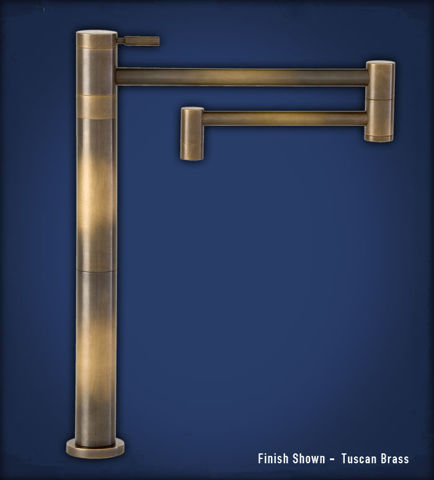 Waterstone Contemporary Deck-Mounted Pot Filler Faucet