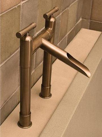 Sonoma Forge | Tub Faucet | Waterbridge Roman Waterfall ll | Deck Mount