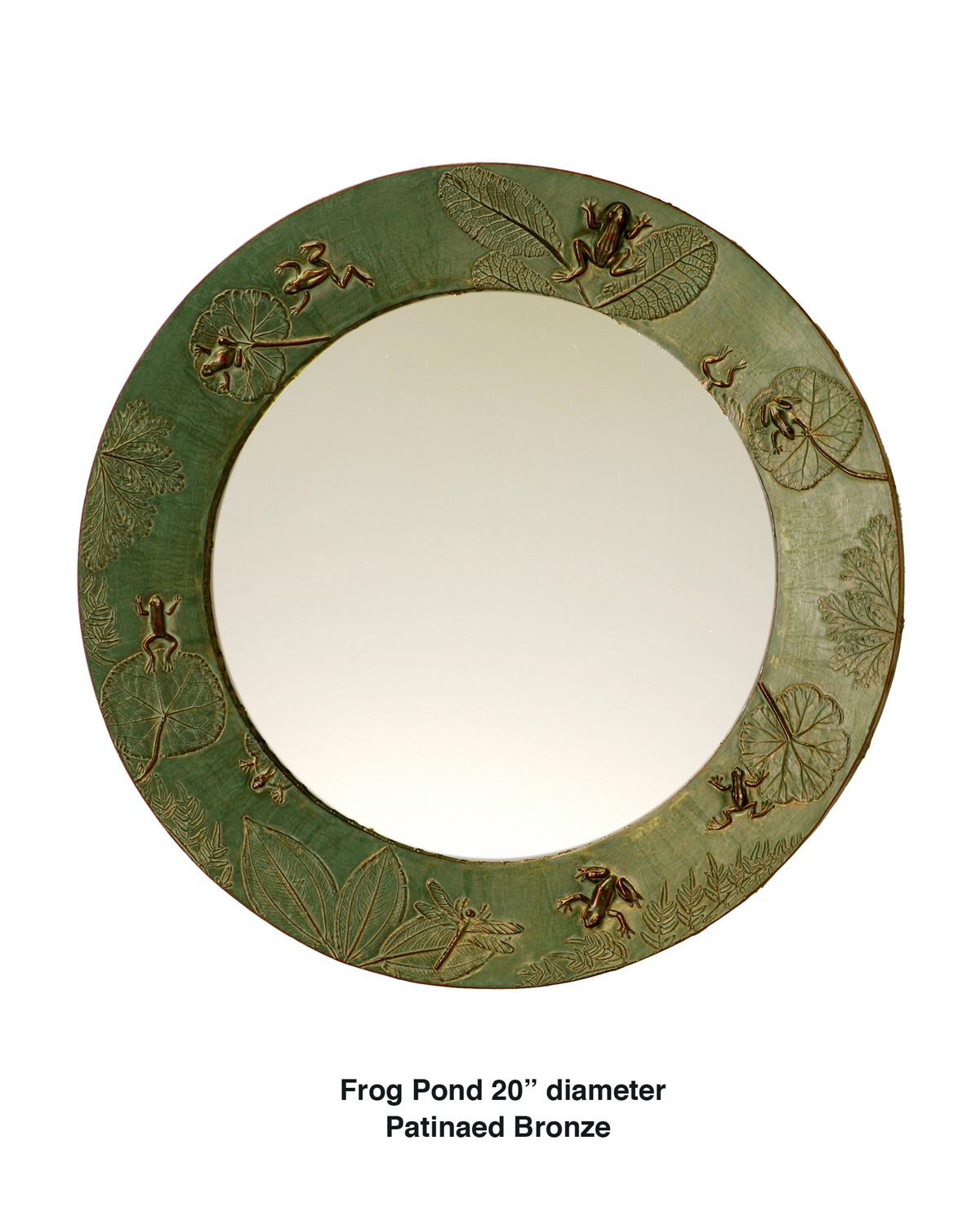 Picture of Frog Pond Handcrafted Round Mirror