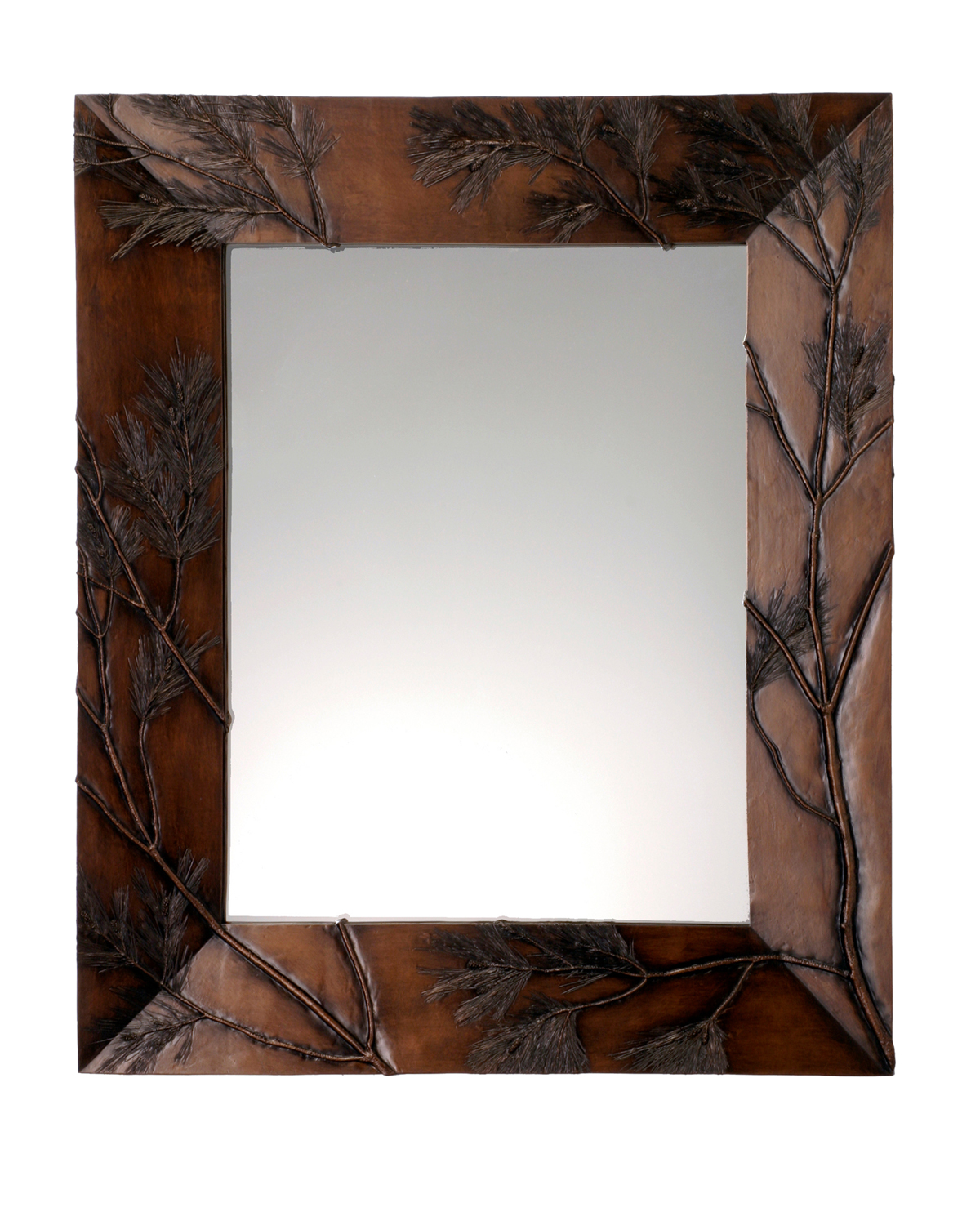 Picture of Pine Bough Rectangular Mirror