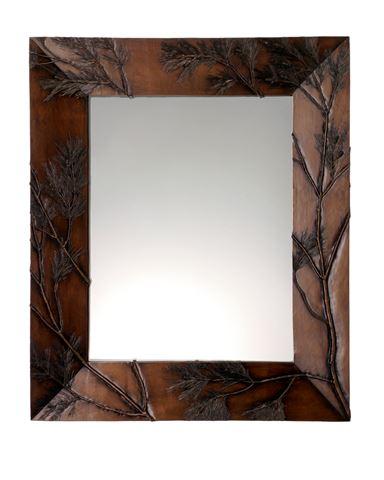 Pine Bough Rectangular Mirror