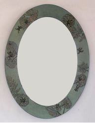 Frog Pond Handcrafted Oval Mirror