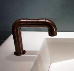 Sonoma Forge | Bathroom Faucet | Elbow Spout | Deck Mount | Hands Free