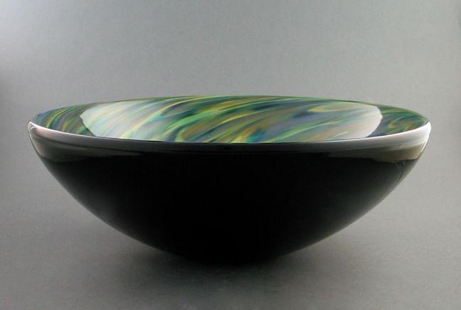 Picture of Blown Glass Sink - Confetti