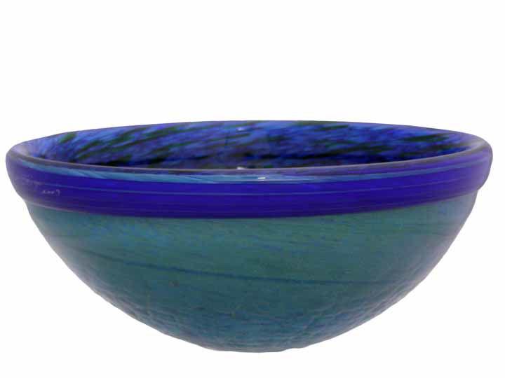 Blown Glass Sink | Hydrangea Petals