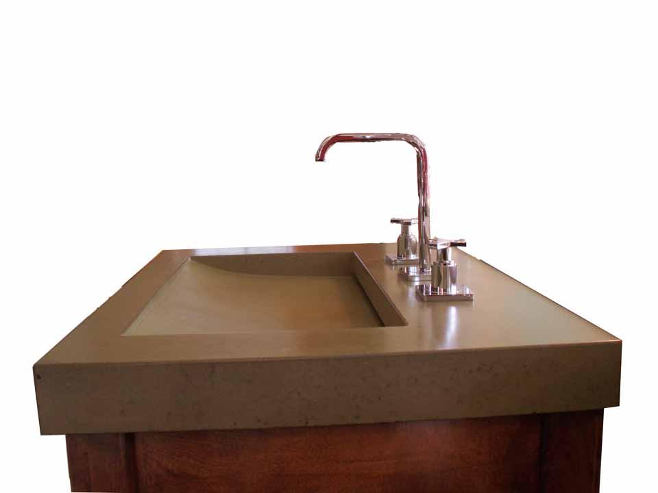 Picture of Jinn Concrete Ramp Vessel Sink