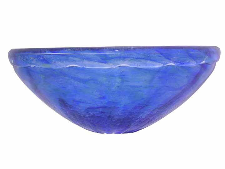 Blown Glass Sink   Mermaid
