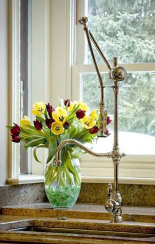 Waterstone Annapolis Gantry Kitchen Faucet