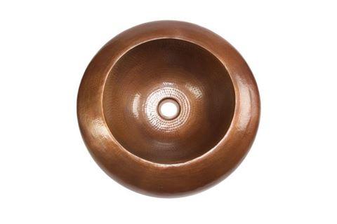 "18"" Platillo Copper Vessel Sink by SoLuna"