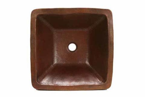 "17"" Cubeta Copper Vessel Sink by SoLuna"