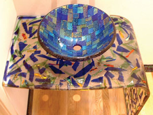 Picture of Blue Dichroic Sink